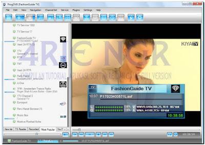 ProgDVB Pro 7.13.0 Final Full Resseter Terbaru