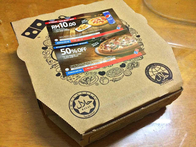 DOMINOS PIZZA RM5.90 JER!