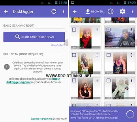 Cara Mengembalikan File / Foto / Data / Video Penting Terhapus dan Hilang di Android
