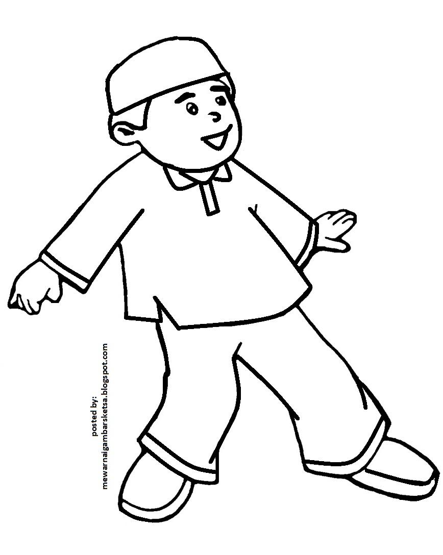 Gambar sketsa anak anak lucu 28 images gambar mewarnai