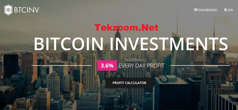 Review Hyip btcinv.io - Lãi 3.6% hằng ngày - Hoàn vốn đầu tư - Thanh toán tức thì