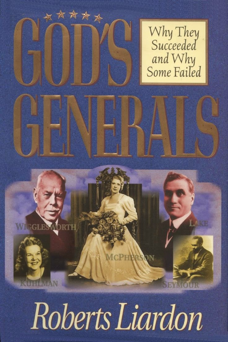 http://www.amazon.com/Gods-Generals-They-Succeeded-Some/dp/0883689448/ref=sr_1_1?s=books&ie=UTF8&qid=1405361638&sr=1-1&keywords=god%27s+generals