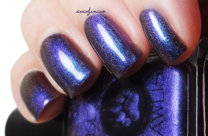 xoxoJen's swatch of Bear Pawlish Gender Bender