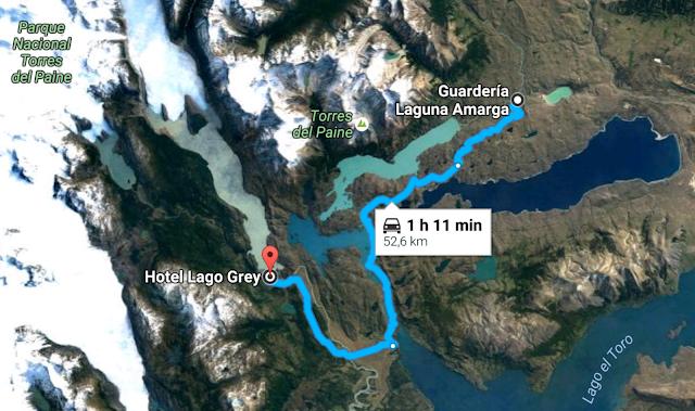 Recorrido por el parque Torres del Paine