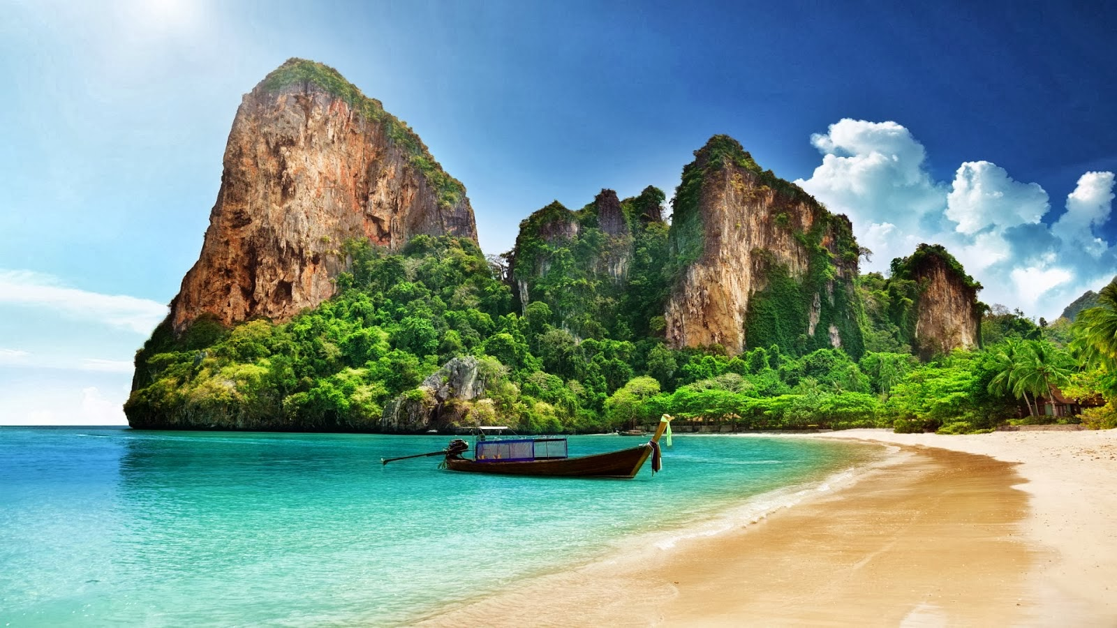Beach Pictures Hd Wallpapers: HD WALLPAPERS: Download Thailand Beach HD Wallpapers