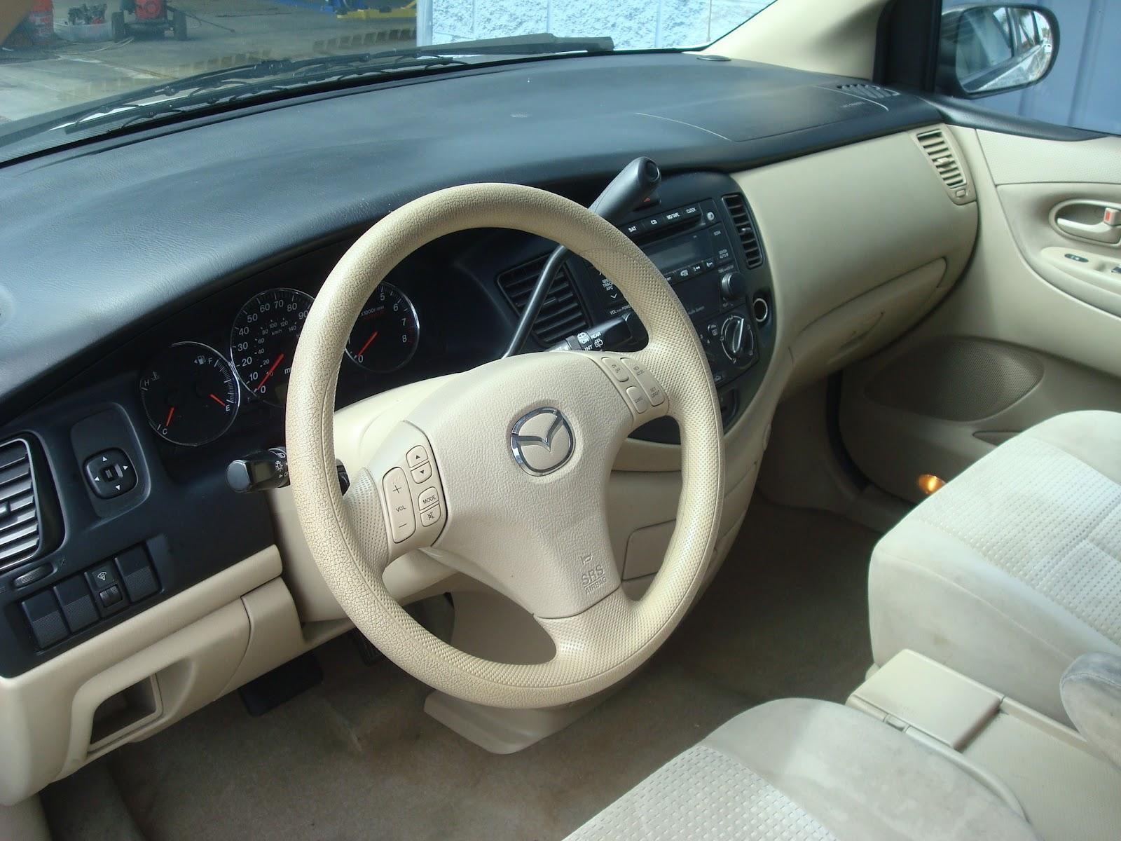 2006 Mazda  MPV LX White  TTAK Auto Service