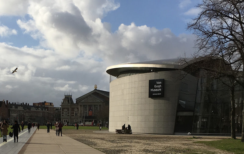 Van Gogh Museum buildingAmsterdam