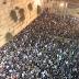 Miles de judíos en Muro Occidental en el comienzo del periodo de Selijot de los sefaradim