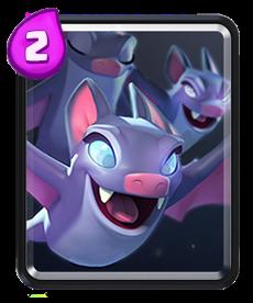 Morcegos Clash Royale