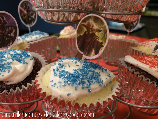 Star Wars Birthday Cupcakes
