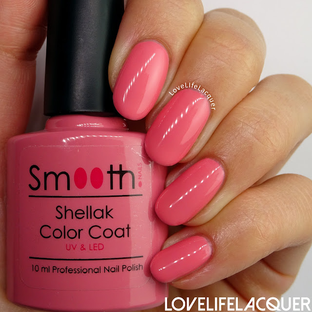 SmoothNails Cadillac Pink swatch