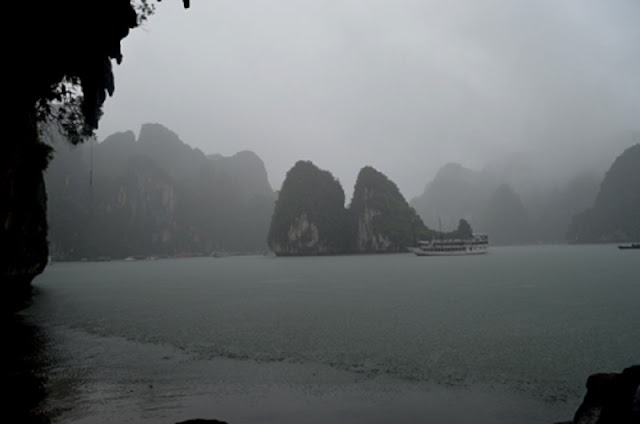 Halong majestic in rain 1