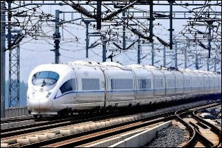china speed rail