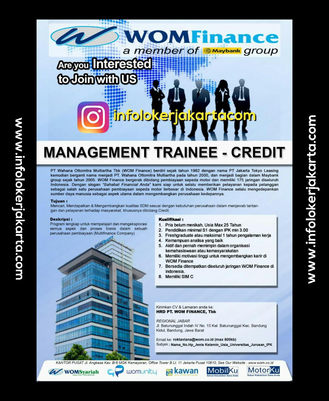 Lowongan Kerja WOM Finance April 2017