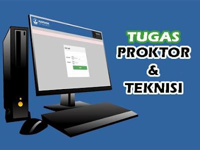 Tugas Proktor dan Teknisi UNBK
