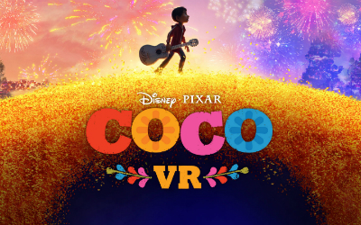 "VR experience featuring Disney/Pixar's ""Coco."""