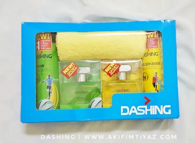 Dashing Sport Untuk Lelaki Aktif