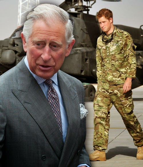 Prince Harry reportedly wants DNA test by Charles