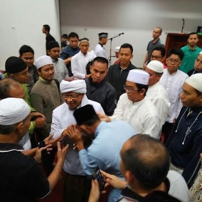 ALHAMDULILLAH... Kondisinya Membaik, Aa Gym Imami Sholat di Masjid Daarut Tauhid, Gegerkalong Bandung
