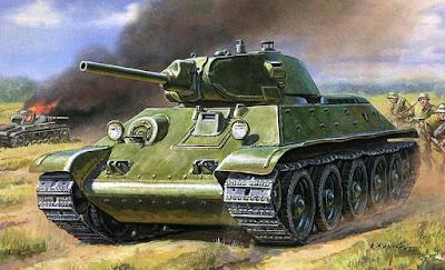 История создания танка Т-34. Часть 1