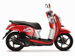Honda Scoopy Estate Red