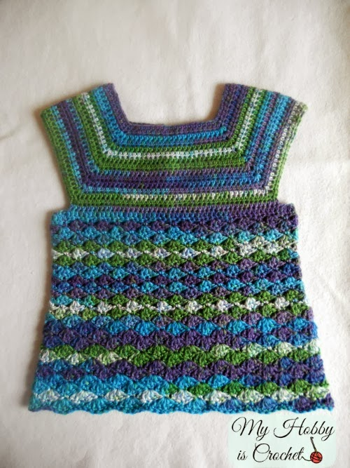 Iris Toddler Top - Free Crochet Pattern