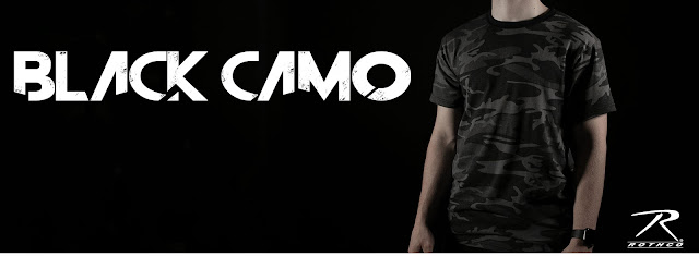 Don't Be In The Dark Introducing Black Camo from Rothco