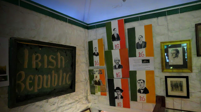 Artifacts from the 1916 Rising at Lissadell House in County Sligo, Ireland