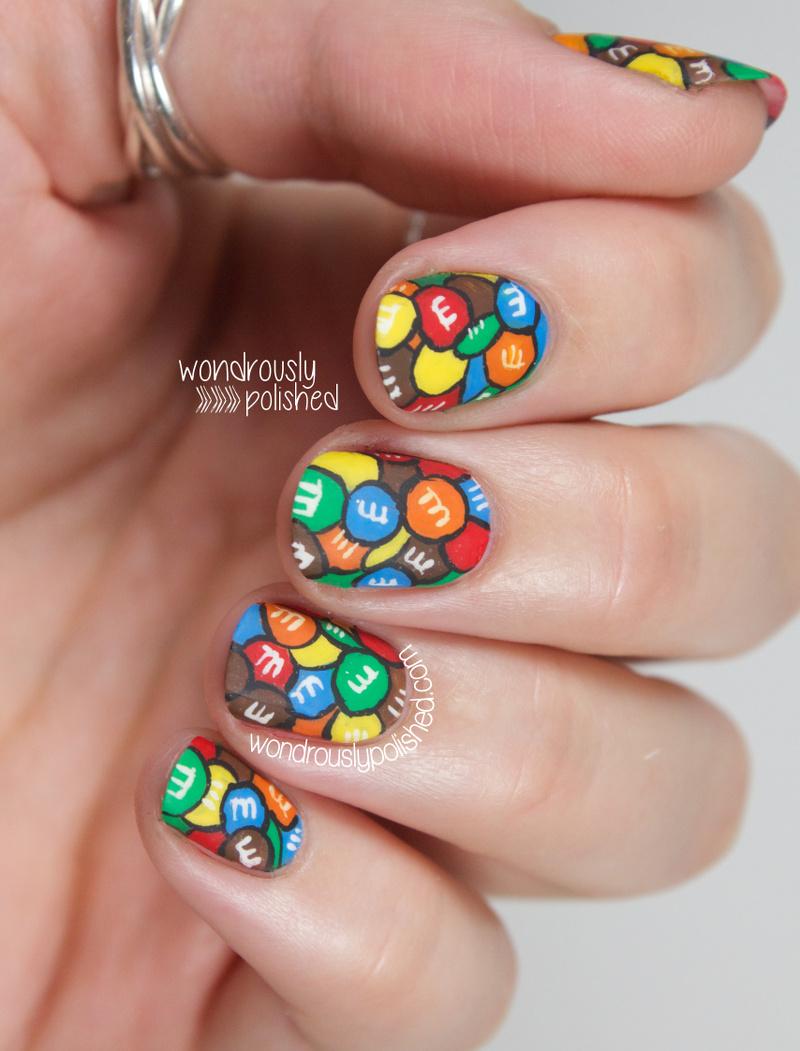 Wondrously Polished April Nail Art Challenge: Wondrously Polished: NAGG