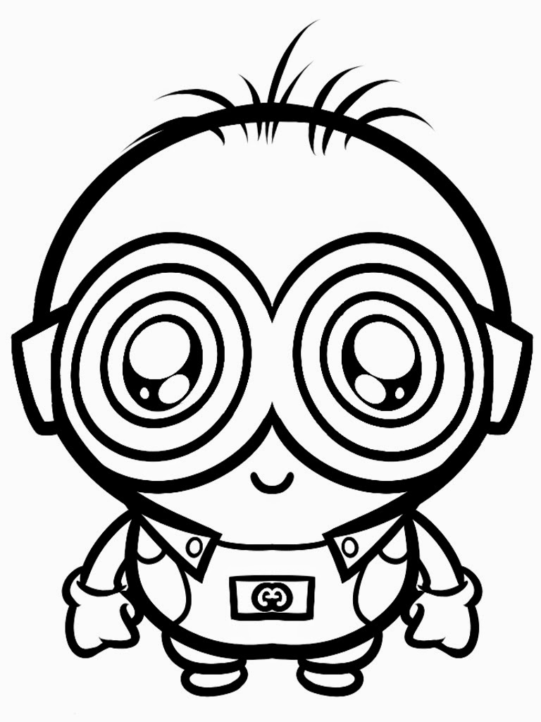Downloads Despicable Me Coloring Pages Minions