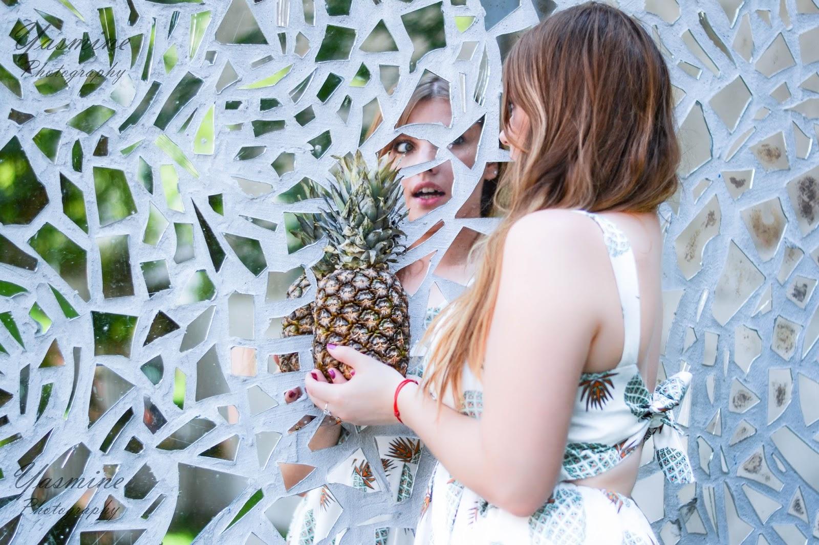 czy warto kupowac na stronach chińskich sklepów zaful sammydress dresslink sukienka w ananasy chińskie sklepy internetowe jakość pineapple dress fashion style melodylaniella pasaż róży