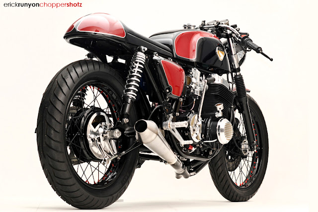 Racing Cafè: Honda CB 750 1978 Cafè Racer by Dime City Cycles
