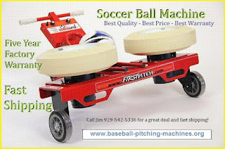 Soccer Ball Launcher - Great for efficient and effective drill practice