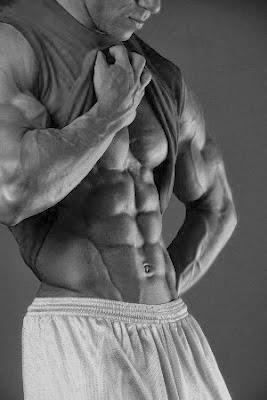 تمارين عضلات البطن كمال الاجسام