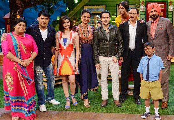 Team Azhar had a gala time at The Kapil Sharma Show.