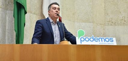 Ricardo Teobaldo é reeleito líder do Podemos