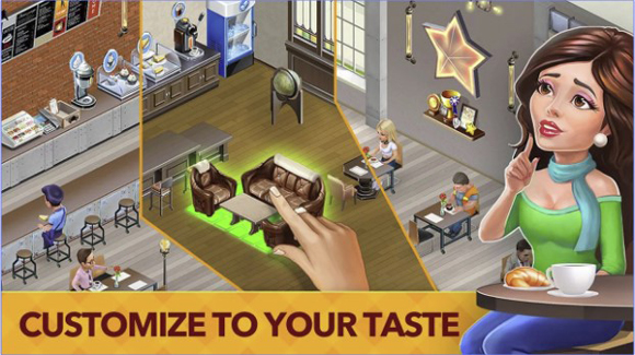 Download My Cafe Recipes & Stories Mod Apk + Data v2019.4.2 Unlimited Money Android Terbaru