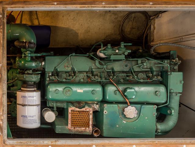 Photo of Ravensdale's port engine