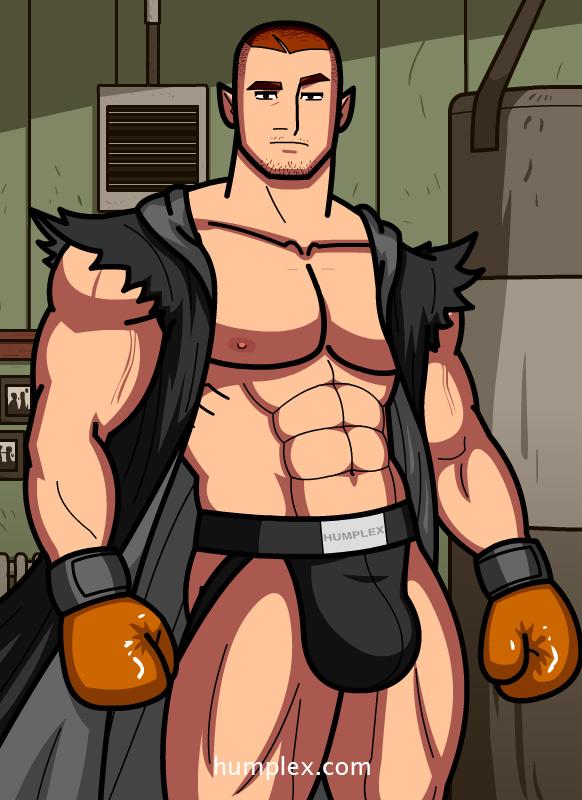 gay huge muscular penis stud