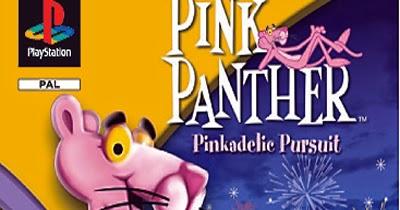 Pink Panther Pinkadelic Pursuit Game