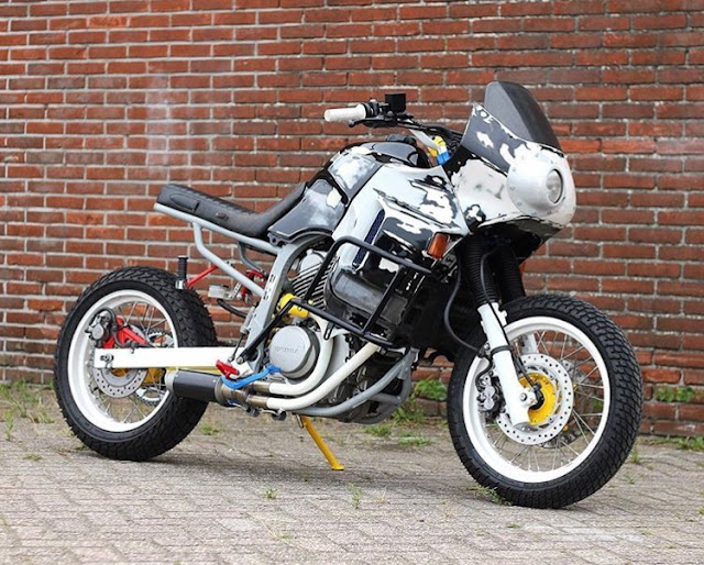 Cool Kid Customs' War Machine - Honda XRV650 Transalp