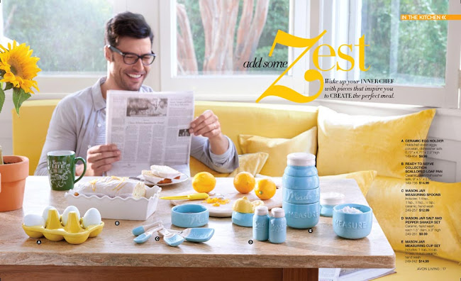 Avon Living Dinning and Entertaining >>>