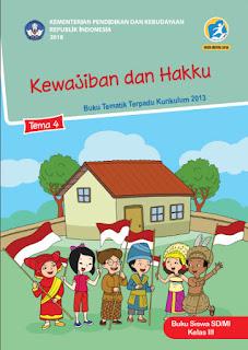 Tema 4 Buku Siswa Kelas 3-III Kurikulum 2013 Revisi 2018