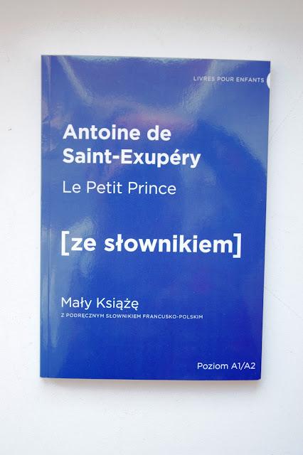 """Recenzje #32 - """"Le Petit Prince"""" [ze słownikiem] - okładka książki pt.""""Le Petit Prince"""" [ze słownikiem] - Francuski przy kawie"""