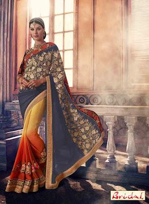 Latest-unique-indian-designer-bridal-saree-collection-for-brides-7