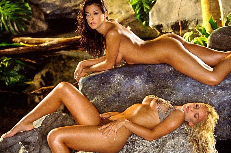 Nude survivor stars