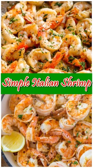 Simple Italian Shrimp