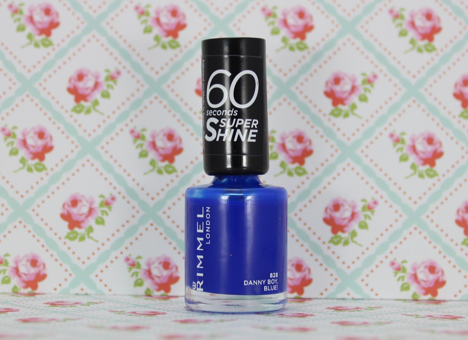 rimmel Danny Boy, Blue! nail polish
