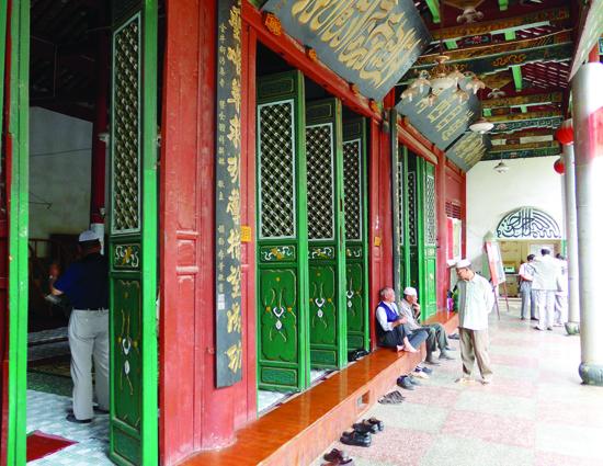 Masjid di Jinhu di Kunming