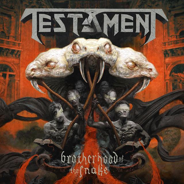 Testament - Brotherhood of the Snake (Lyrics)